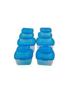 Discountershop Discountershop - Food storage containers - 10-piece - Food storage containers 10 piece