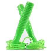 Merkloos springtouw voor kinderen Groen