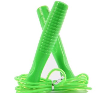 Discountershop skipping rope for children Green