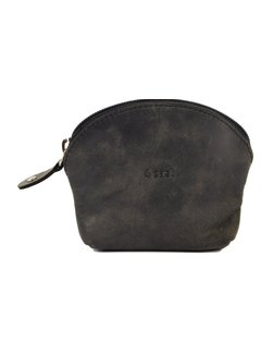 4East Wallet - Holiday Wallet - Compact Wallet - Buffalo Leather Wallet - Small Wallet - Wallet - Round Wallet