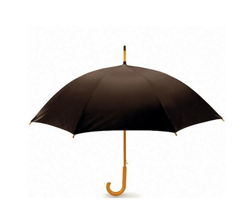 Discountershop Storm umbrella - Storm umbrella - Umbrella with wooden handle - Umbrella - Wooden Umbrella - Quality umbrella - Dark brown This bike bag with a tough look is made of polyester and ensures that you can take a lot of luggage with you on your bike. The bicyc