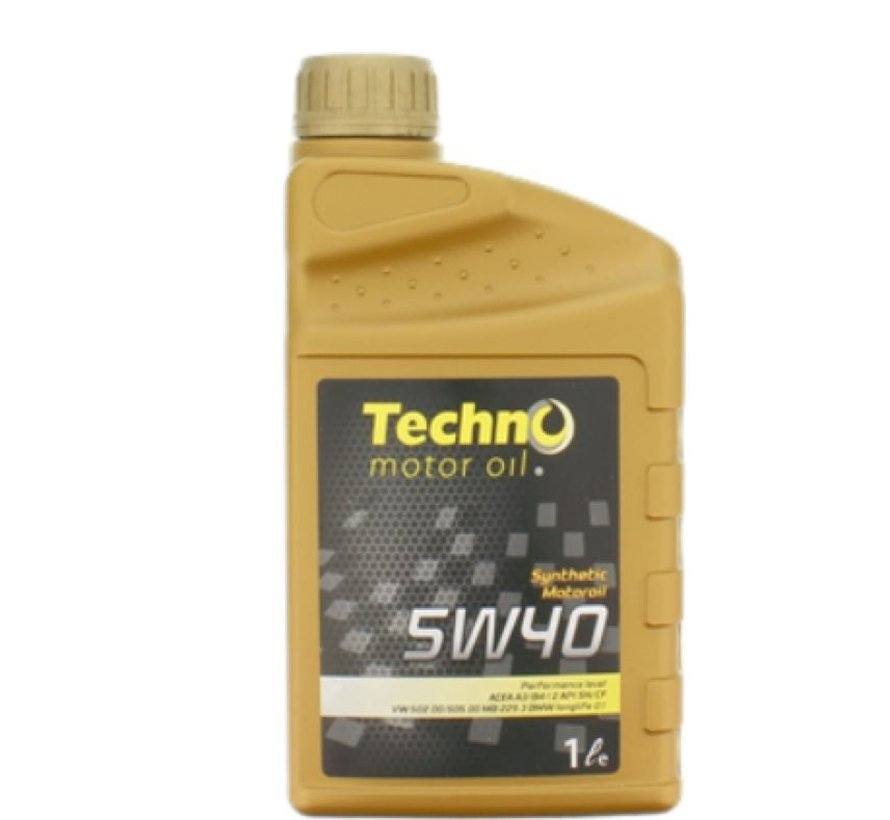 Techno Synthetic car 5W-40 - Engine oil - 1L