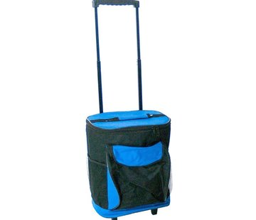 Discountershop Discountershop Cooler bag trolley 40 liters - 44x27x33 cm