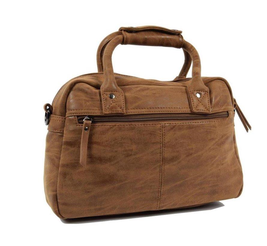 Bicky Bernard Handbag wrap Hand & Shoulder bag Western Bag Camel - Cognac