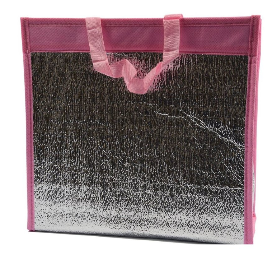 Cool bag with handle \ Pink