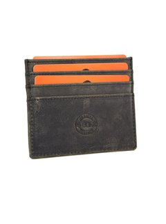 Discountershop Card case - credit card holder with money - card holder with bills - card holder - credit card - 6 card holder. Width 105 mm Height 78 mm Material Buffalo leather