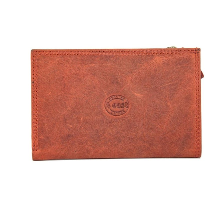 Wallet anti-skim - Wallet buffalo leather - Wallet with 10 cards - Small wallet - wallet compact