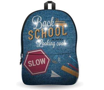 Discountershop Ekuizai LED Schooltas / Rugzak - Back to school -Jeans model