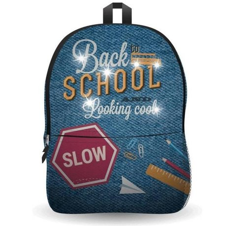 Discountershop Ekuizai LED School Bag / Backpack - Back to school - Jeans model