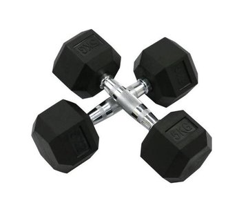 Discountershop Hexa Dumbbells Focus Fitness - set 2 x 5kg