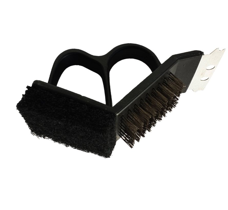 Discountershop - Barbecue - Grill cleaning brush - Hand cleaning brush