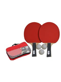 Discountershop Table tennis - table tennis set- table tennis set Sports Active with 3 balls