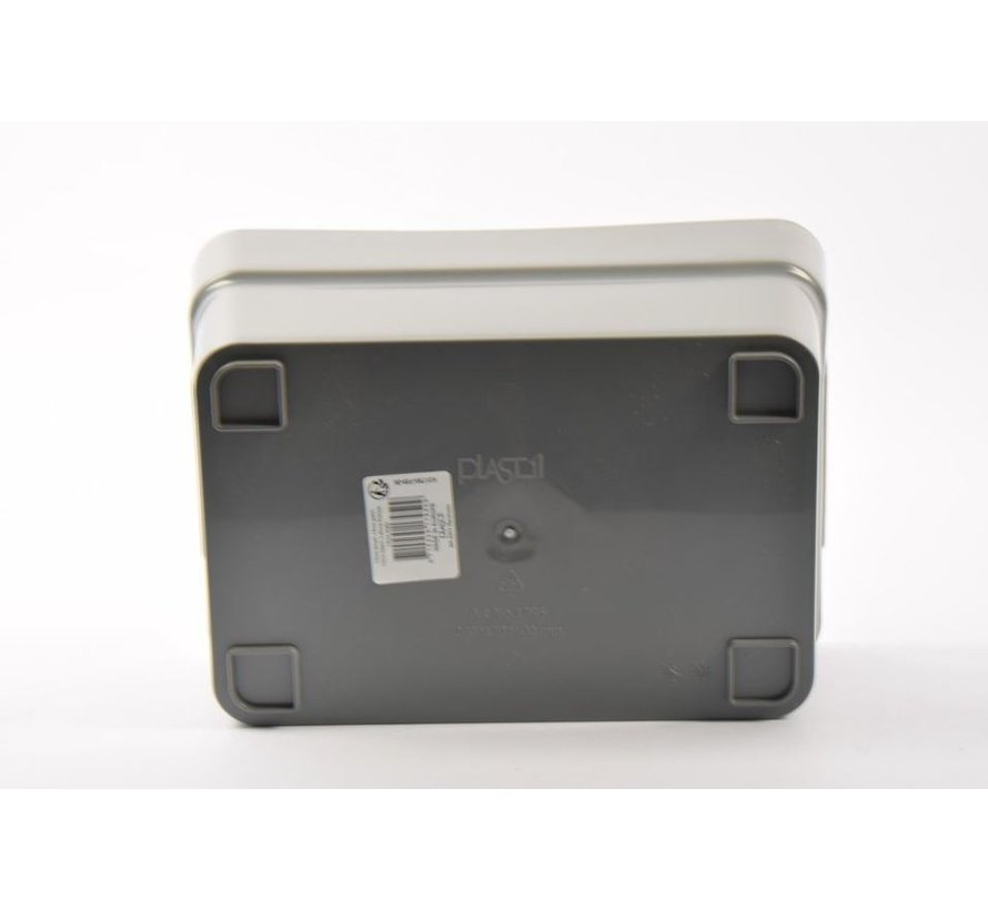 Storage box - toolbox -24 x 17 x 10 cm - grey