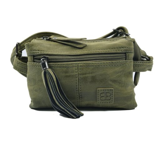 Discountershop Bicky Bernard small shoulder bag WDL0132 olive