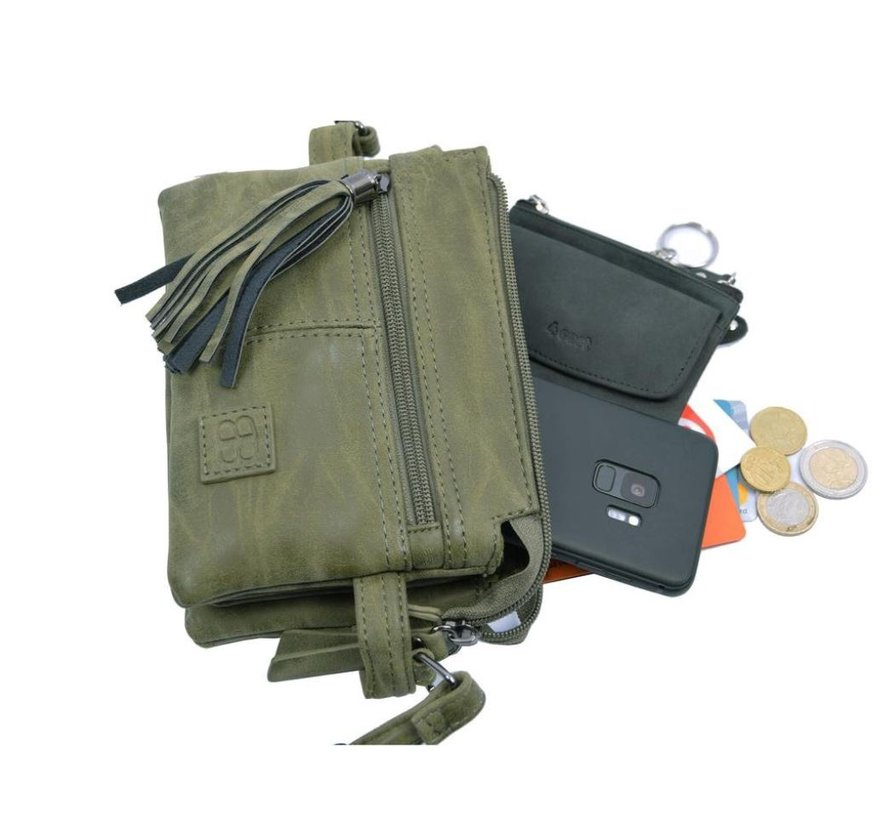 Bicky Bernard small shoulder bag WDL0132 olive