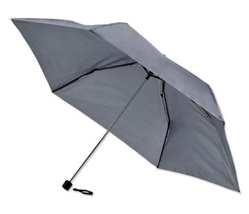 Discountershop Foldable - Automatic umbrella - Sturdy umbrella with a diameter of 92 cm - Black