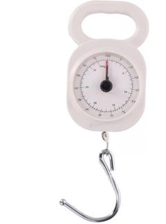 Discountershop Luggage Scale 32kg - Cheap Luggage Scale - Quality Luggage Scale - Small Luggage Scale Luggage Scale 32kg  white