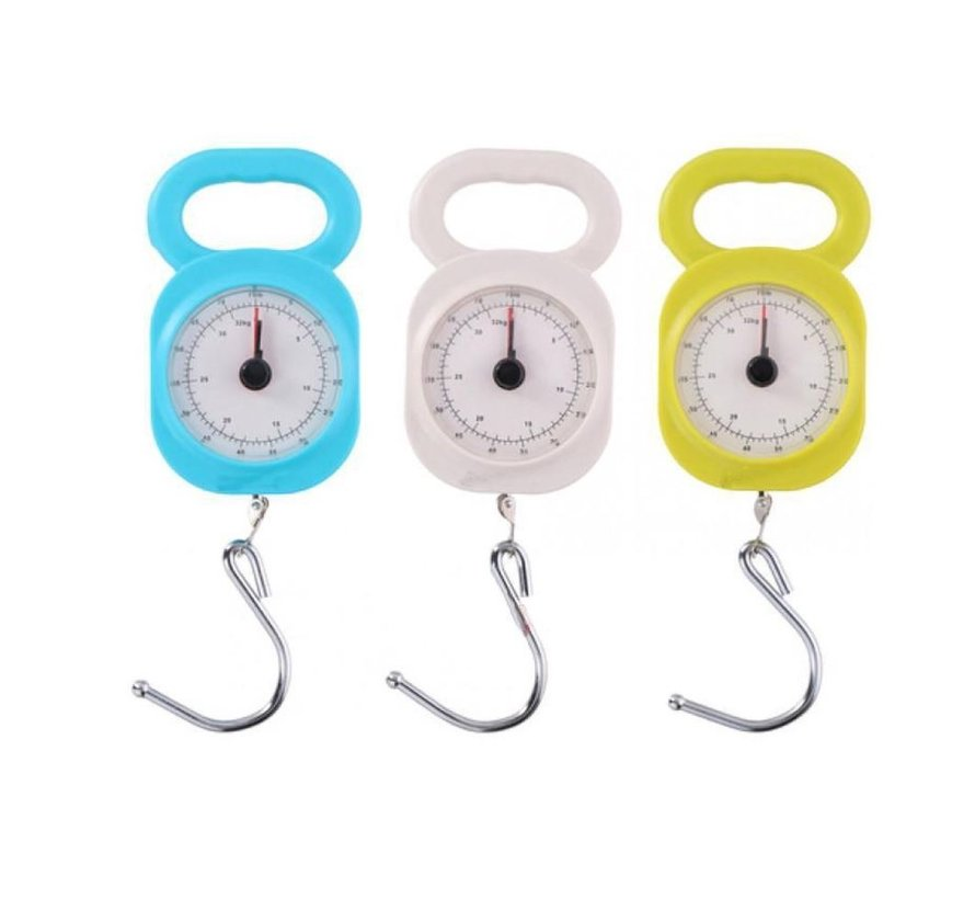 Luggage Scale 32kg - Cheap Luggage Scale - Quality Luggage Scale - Small Luggage Scale Luggage Scale 32kg  white