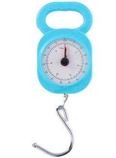 Discountershop Luggage Scale 32kg - Cheap Luggage Scale - Quality Luggage Scale - Small Luggage Scale Luggage Scale 32kg  Blue