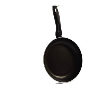 Discountershop Kitchen pan - Ø 24cm - Luxury kitchen pan of 24cm Non-stick coating - black handle