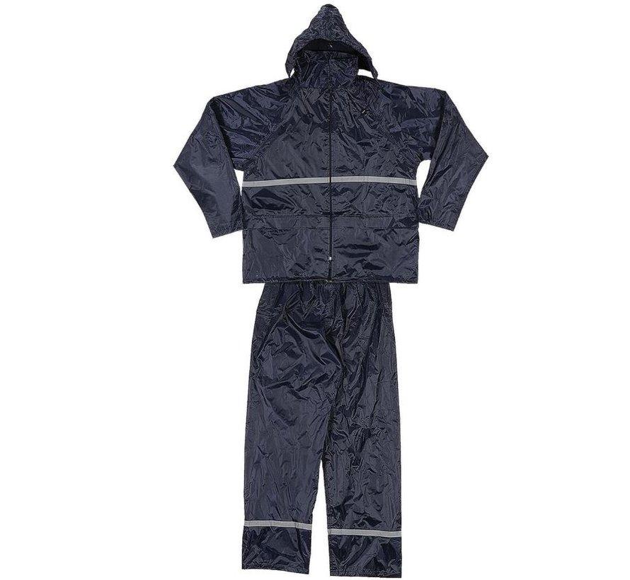 Regenpak maat XL - Regenpak - Basic Rainsuit - Unisex - Regenpak dames en heren - regenpak maat XL- Regenpak kopen