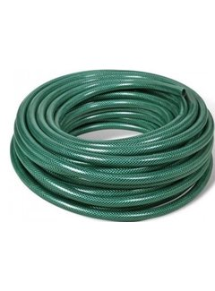 Discountershop Garden hose -  Water - Sprinkler - Green - 25 meters - Roll up - Roll