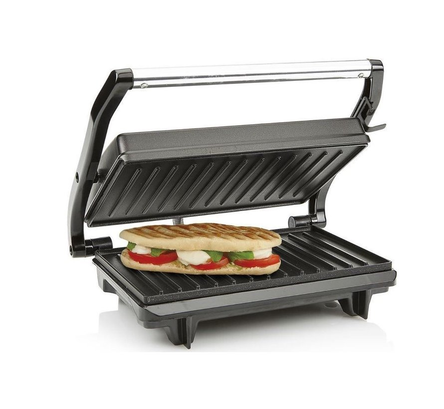 Contact Grill - Grill - Toasti - Baking - Grill plates - Non-slip feet - Offer - Professional - Contact grill test - Tristar - 22.5 X 14 cm