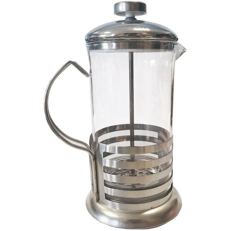 Discountershop Cafetière glass for coffee or tea 800 ml - Coffee and tea maker 800ml