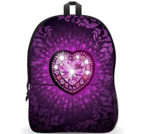 Discountershop Backpack - school bag Ekuizai LED School bag / Backpack - Back to school - Heart model