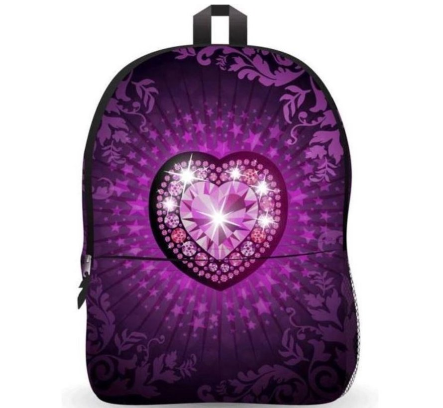 Backpack - school bag Ekuizai LED School bag / Backpack - Back to school - Heart model