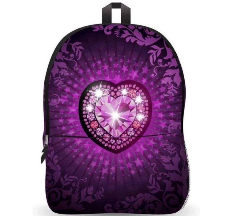 Ekuizai LED Schooltas / Rugzak - Back to school - Heart model
