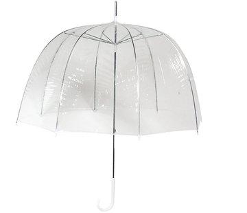 Discountershop Umbrella - Dome Umbrella Transparent - Dome Umbrella PVC Diameter Ø 82 cm