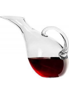 Discountershop Glass Decanter Carafe 1.5L - Wine - Whiskey Accessories