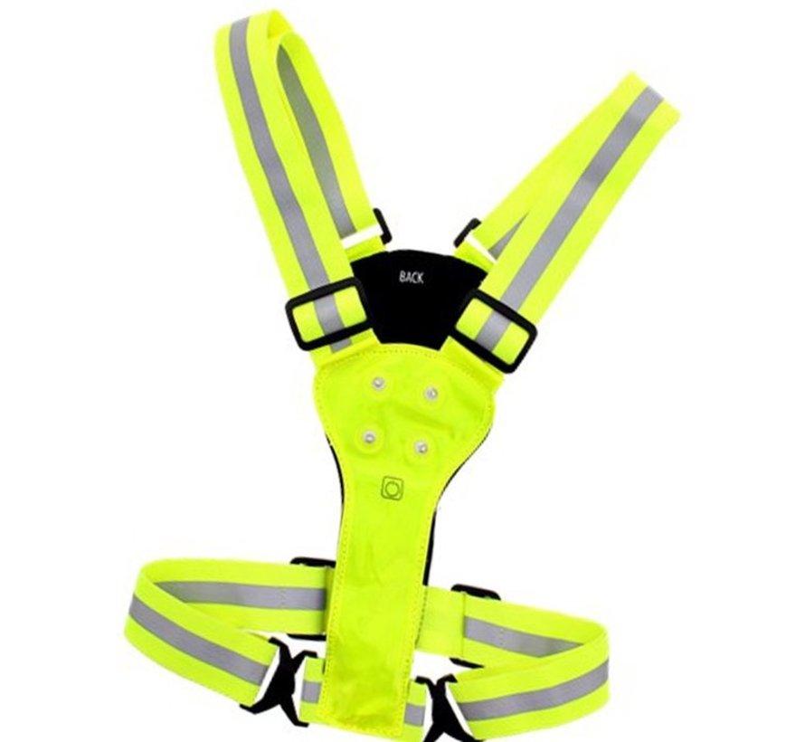 Cheap Discountershop Reflective running vest - Running - Led Vest - Running accessory