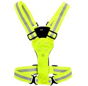 Discountershop Cheap Discountershop Reflective running vest - Running - Led Vest - Running accessory