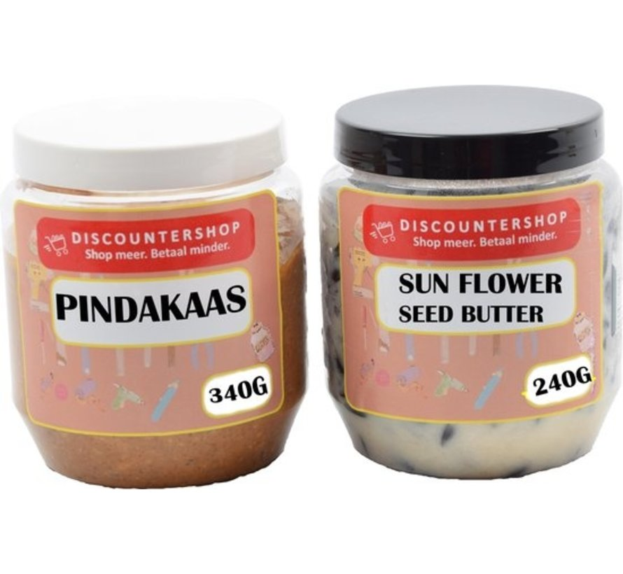 Pindakaas SunFlower Seed Butter voor tuinvogels - Tuinvogels - vogelvoer - Vogelpindakaas - tuinvogelvoer - Vogelhuisje