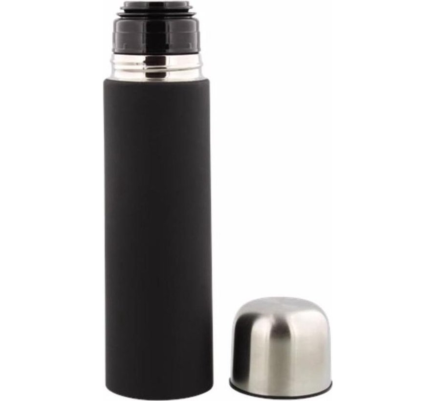 Thermos bottle - Insulated bottle - Thermos cup - Insulation jug - Insulated bottle 8 x 8 x 28 cm - Capacity of 700 ml - Insulated bottle 8 x 8 x 28 cm - Capacity of 0.7 liter soft touch