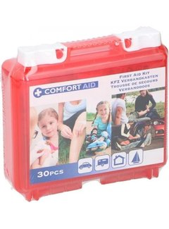 First aid kit at home, car or in the camper - First aid kit 30 pieces - Comfort AID - First AID KIT - First aid kit