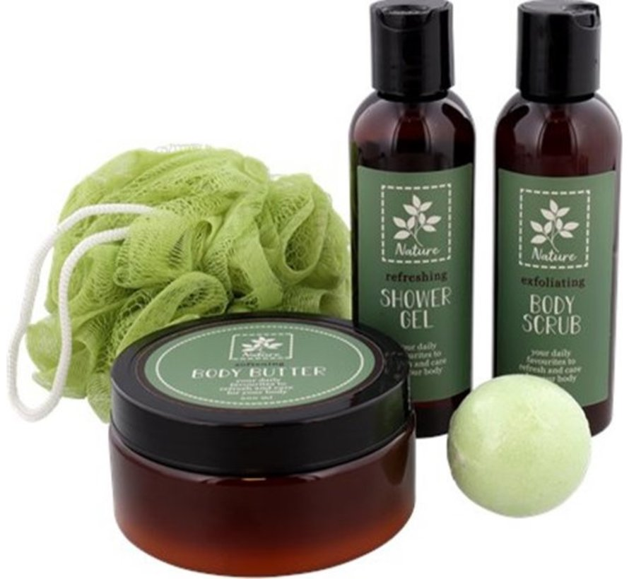 Low Priced Discountershop Spa Gift Set for Her, complete set of 5-piece - Trendy Gift set 2021 - Valentine gift idea