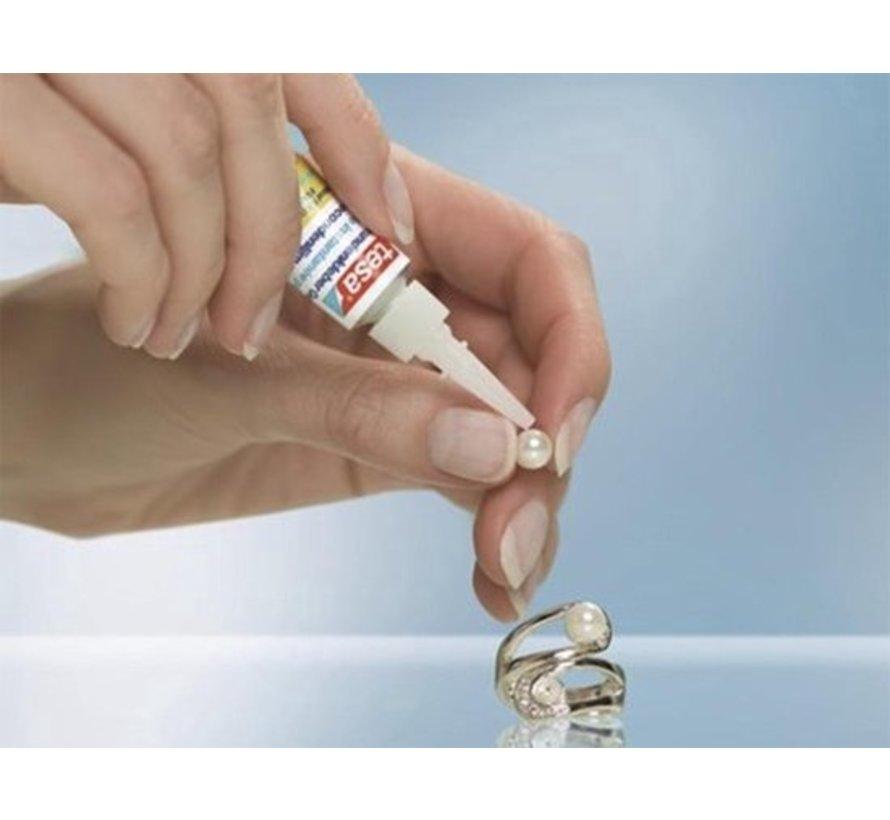Tesa Super Glue - Super Glue - Super Glue - Second - Super Glue - Tube 2 x 3 gram