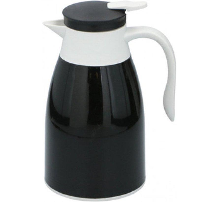 Thermoskan 1 liter- isoleerkan - thee Thermoskan - Zwart