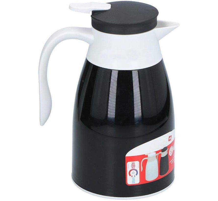 Thermos flask 1 liter -  thermos mug - Thermos flask - Black