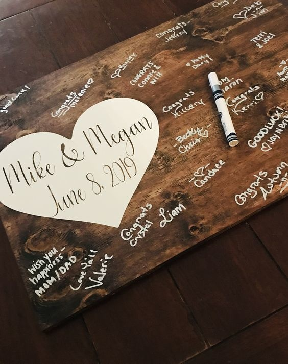 Wedding Guestbook Idee