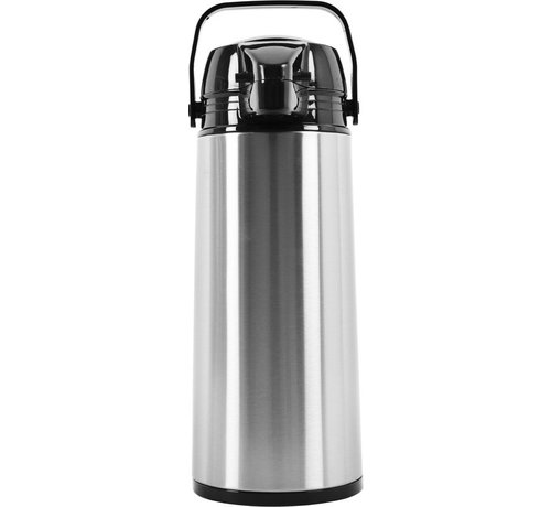 Discountershop Thermos flask - vacuum insulated jug - Thermos 1.9 liter - Insulated Thermos for tea - Water bottle - stainless steel