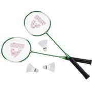 Discountershop Badminton set Including 3 shuttles Badminton - Badminton racket - badminton shuttles -