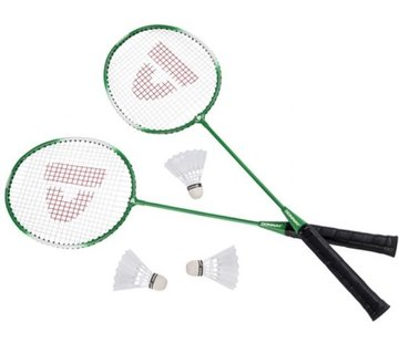 Discountershop Badminton set Inclusief 3 shuttles Badminton - Badminton racket - badminton shuttles -