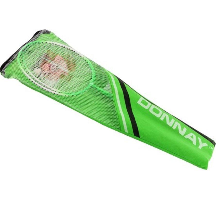 Badminton set Including 3 shuttles Badminton - Badminton racket - badminton shuttles -