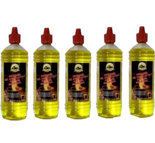 Merkloos Brandgel Fles - Krachtige brandgel Firegel 5 liter aanmaakblokjes