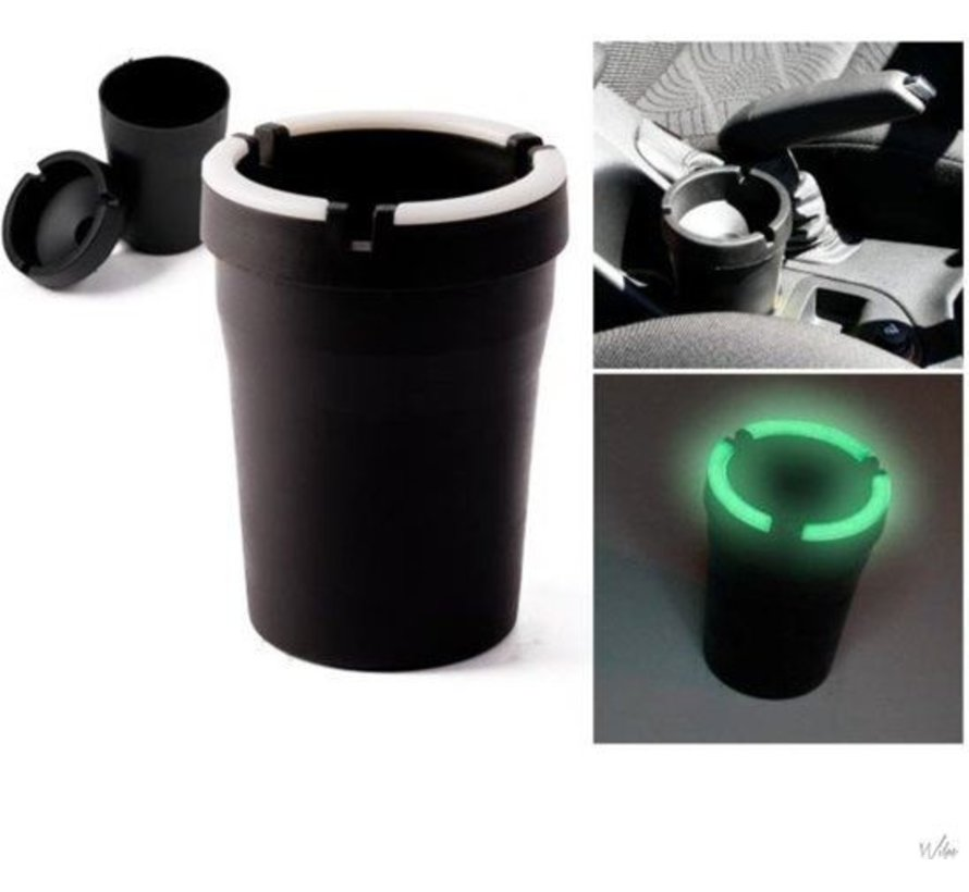 Car ashtray - Odorless Car Ashtray Black - Car ashtray black