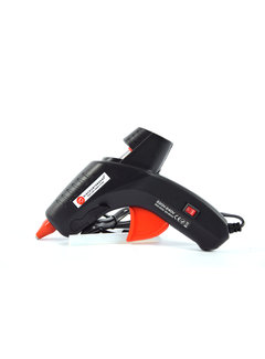 Discountershop Discountershop® -220V - 240V - 15Watt / 20Watt glue gun 2 positions - INCL. 12 GLUE STICKS